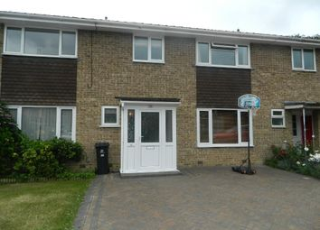 Thumbnail 3 bed terraced house for sale in Stirrup Close, Wimborne, Dorset