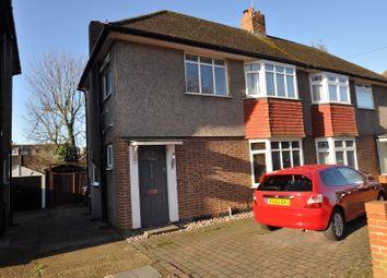 Thumbnail 2 bedroom semi-detached house to rent in Garth Road, Morden, Surrey
