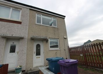 Thumbnail 2 bed end terrace house for sale in Mosscastle Road, Glasgow