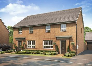 "Thumbnail 4 bedroom detached house for sale in ""Chester"" at The Ridge, London Road, Hampton Vale, Peterborough"