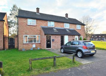Thumbnail 2 bedroom semi-detached house for sale in Bath Crescent, Wyton-On-The-Hill, Huntingdon, Cambridgeshire