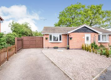 Thumbnail 1 bed semi-detached bungalow for sale in Bosworth Close, Hinckley