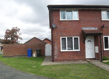 Thumbnail 2 bed end terrace house to rent in Gainsborough Drive, Halesworth