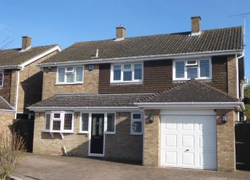 Thumbnail 4 bedroom detached house for sale in Coombe Drive, Dunstable
