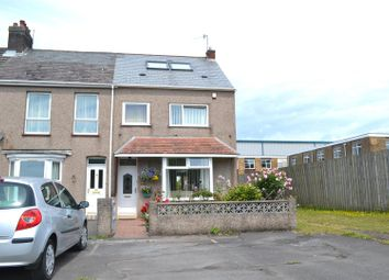 Thumbnail 3 bed end terrace house for sale in Baldwins Crescent, Crymlyn Burrows, Swansea