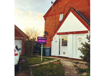 Thumbnail 1 bedroom semi-detached house for sale in Radcliffe Road, Norwich