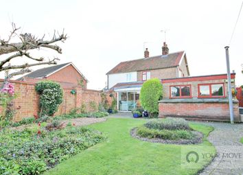 Thumbnail 3 bed semi-detached house for sale in Yarmouth Road, Kirby Cane, Bungay