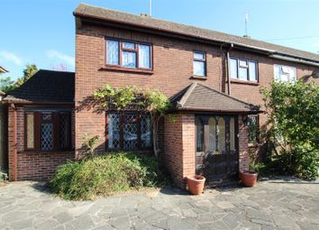 Thumbnail 2 bed end terrace house for sale in Broomwood Gardens, Pilgrims Hatch, Brentwood