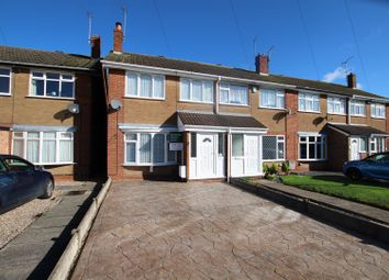 Thumbnail 3 bed town house for sale in Poplars Road, Horninglow, Burton-On-Trent