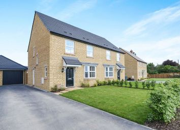 Thumbnail 4 bed semi-detached house for sale in Swinbrook Road, Carterton