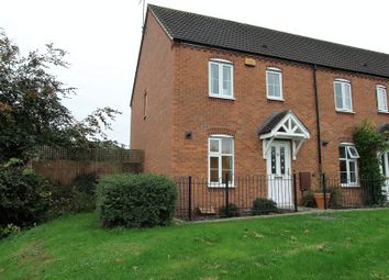 Thumbnail 3 bed semi-detached house for sale in Darwin Crescent, Loughborough