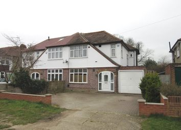 Thumbnail 3 bed semi-detached house to rent in Montrose Avenue, Datchet, Slough