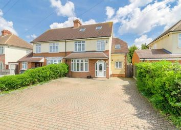 Thumbnail 4 bed semi-detached house for sale in Wootton Road, Kempston, Bedford, Bedfordshire