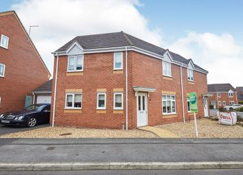 3 bed semi-detached house for sale in Balata Way, Stretton, Burton-On-Trent DE13