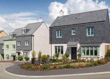 "Thumbnail 4 bed detached house for sale in ""The Caulke Sp"" at Barracks Road, Modbury, Ivybridge"