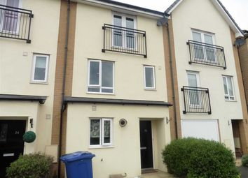 Thumbnail 4 bed town house to rent in Schoolfield Way, Grays
