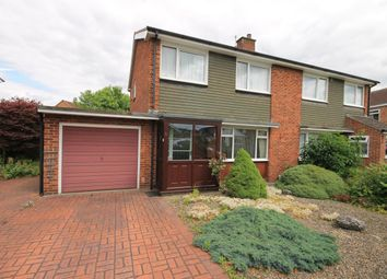 Thumbnail 3 bed semi-detached house for sale in Wycliffe Avenue, Northallerton