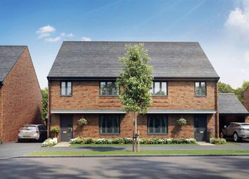 "Thumbnail 4 bed semi-detached house for sale in ""The Huxford - Plot 94"" at Cheesemans Green Lane, Kingsnorth, Ashford"