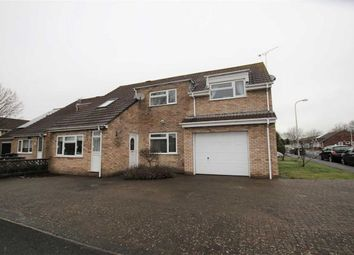 Thumbnail 4 bedroom semi-detached house for sale in Lynmouth Close, Worle, Weston-Super-Mare
