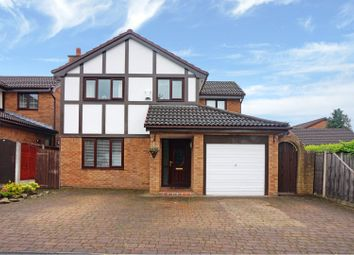 Thumbnail 4 bed detached house for sale in Chiswick Drive, Radcliffe, Manchester