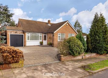 Thumbnail 3 bed detached bungalow for sale in Warren Road, St. Albans, Hertfordshire