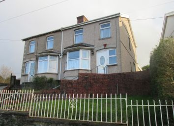 Thumbnail 3 bed semi-detached house for sale in Highland Terrace, Pontarddulais, Swansea, City And County Of Swansea.