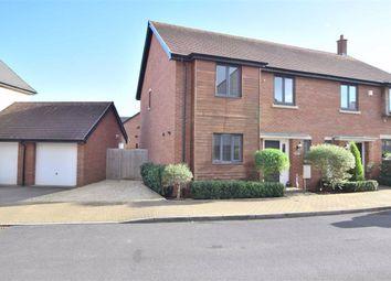 Thumbnail 4 bed semi-detached house for sale in Gauntlet Road, Brockworth, Gloucester