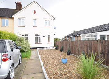 Thumbnail End terrace house for sale in Roxton Road, Great Barford, Bedford