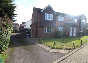 Thumbnail 2 bedroom end terrace house for sale in Kingsmead, Cheshunt, Herts