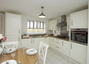 "Thumbnail 4 bed semi-detached house for sale in ""Chesham"" at Carters Lane, Kiln Farm, Milton Keynes"