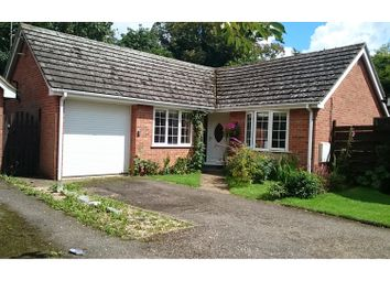 Thumbnail 3 bed detached bungalow for sale in Oxburgh Close, Leverington