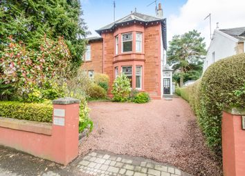 Thumbnail 5 bed link-detached house for sale in Fenwick Road, Giffnock, Glasgow