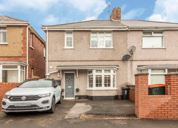 Thumbnail 3 bed semi-detached house for sale in Norfolk Road, Newport