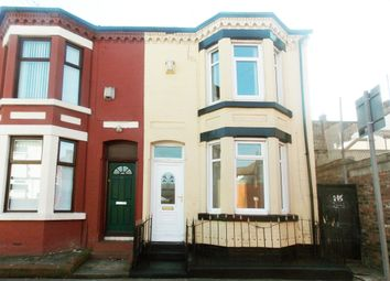 Thumbnail 2 bed end terrace house to rent in Newcombe Street, Liverpool