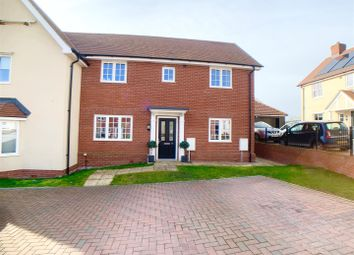 Thumbnail 3 bed semi-detached house for sale in Pask Way, Clare, Sudbury