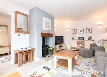 Thumbnail 2 bed link-detached house for sale in Wayford, Norwich