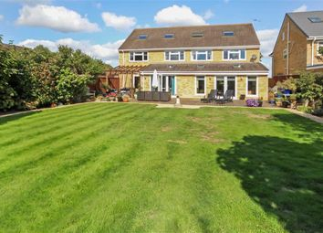 Thumbnail 5 bed detached house for sale in Windsor Road, Lawn, Swindon