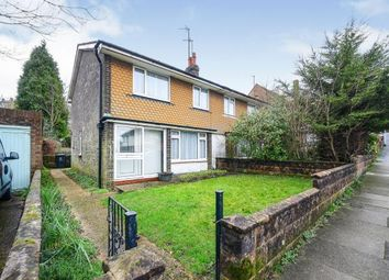 Thumbnail 3 bedroom semi-detached house for sale in Chalky Road, Portslade, Brighton, East Sussex