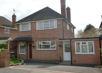 Thumbnail 4 bed detached house for sale in Sansome Road, Shirley, Solihull