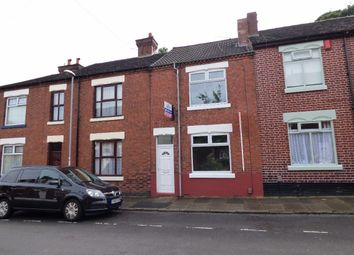 Thumbnail 4 bed terraced house to rent in West Avenue, Hartshill, Stoke-On-Trent