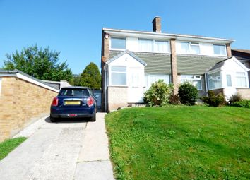 Thumbnail 3 bed semi-detached house for sale in Clifton Avenue, Plympton, Plymouth