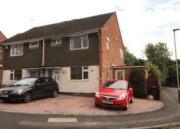 Thumbnail 3 bed semi-detached house to rent in Lobbs Wood Close, Leicester