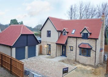 Thumbnail 4 bed detached house for sale in Bury Road, Stanton, Bury St. Edmunds
