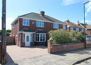 Thumbnail 3 bed semi-detached house for sale in Daggett Road, Cleethorpes