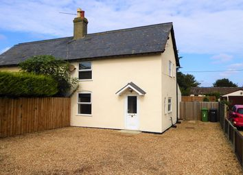 Thumbnail 2 bed semi-detached house for sale in Bexwell, Downham Market