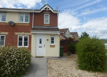 Thumbnail 3 bed semi-detached house for sale in Clos Ynysddu, Pontyclun