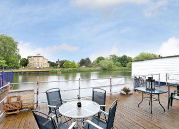 Thumbnail 2 bed houseboat for sale in Ducks Walk, Twickenham