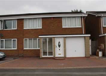 Thumbnail 3 bed semi-detached house for sale in Fillingham Close, Birmingham