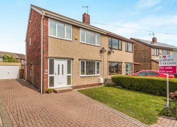 Thumbnail 3 bed semi-detached house for sale in Ash Crescent, Mexborough