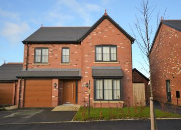 Thumbnail 4 bed detached house for sale in Alder Way, Holmes Chapel, Crewe